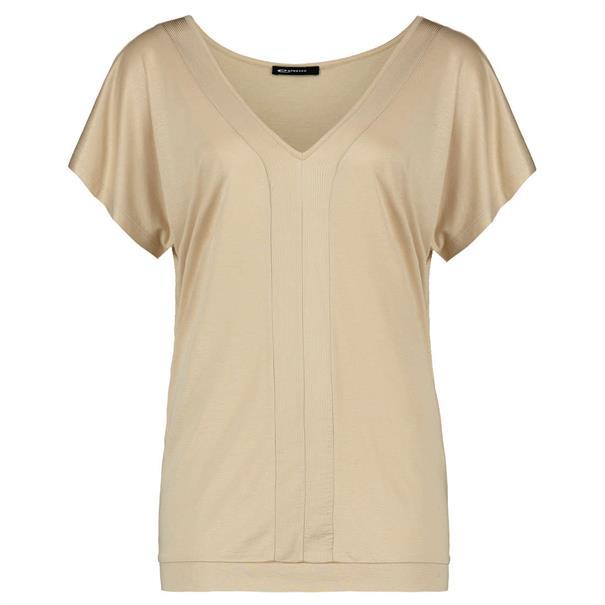 Expresso t-shirts 192fien in het Khaky beige