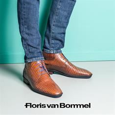 Floris van Bommel schoenen 10879 in het Camel