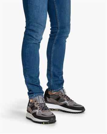 Floris van Bommel sneakers 16308 in het Donker grijs