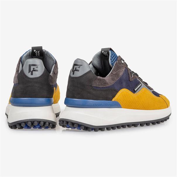 Floris van Bommel sneakers 16339 in het Geel