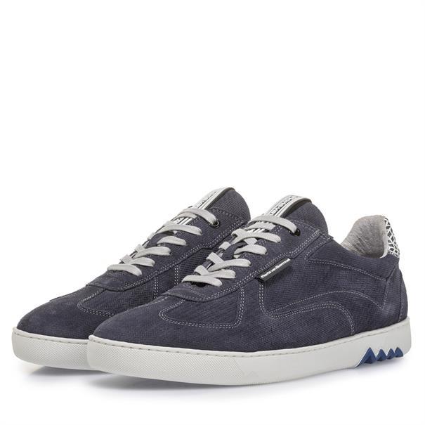 Floris van Bommel sneakers 16342 in het Marine