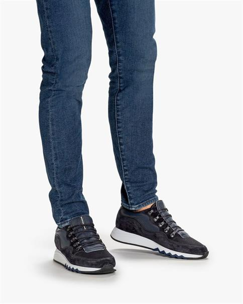 Floris van Bommel sneakers 16393 in het Donker Blauw
