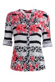 Frank Walder blouse 103102 in het Wit