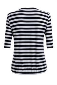 Frank Walder blouse 103423 in het Wit