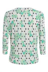Frank Walder blouse 201422 in het Groen
