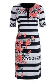 Frank Walder jurk 103503 in het Wit