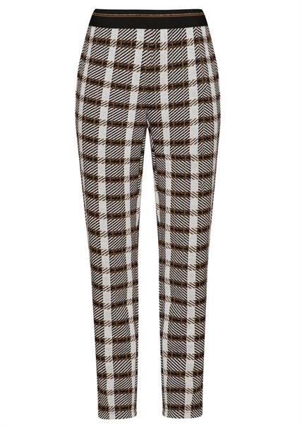 Frank Walder pantalons 209602 in het Beige