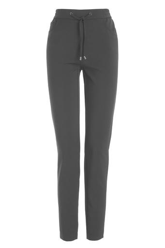 Frank Walder pantalons 710607 in het Grijs