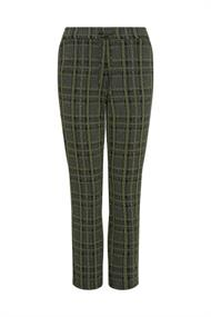 Frank Walder pantalons Regular Fit 109602 in het Groen