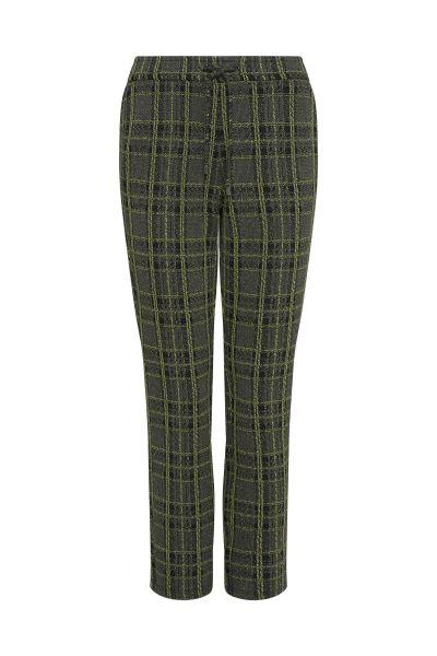 Frank Walder pantalons Regular Fit 109602 in het Groen