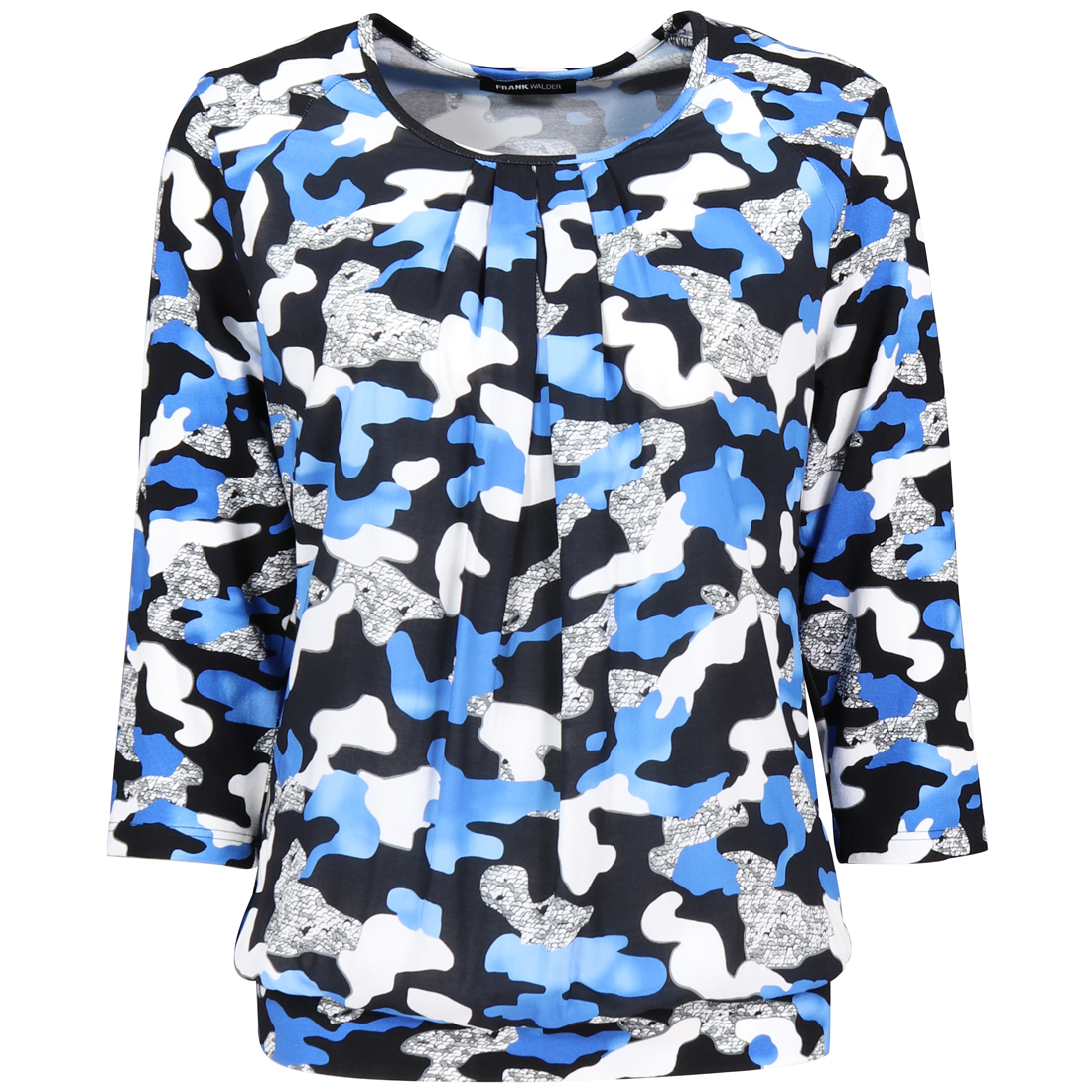 Frank Walder t-shirt 621438 in het Donker Blauw