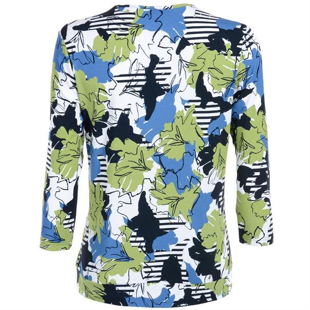 Frank Walder t-shirt 621438 in het Groen