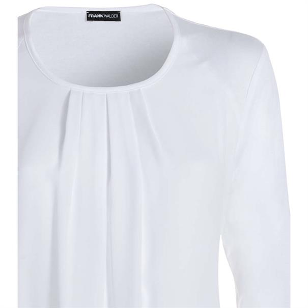 Frank Walder t-shirt 707426 in het Ecru
