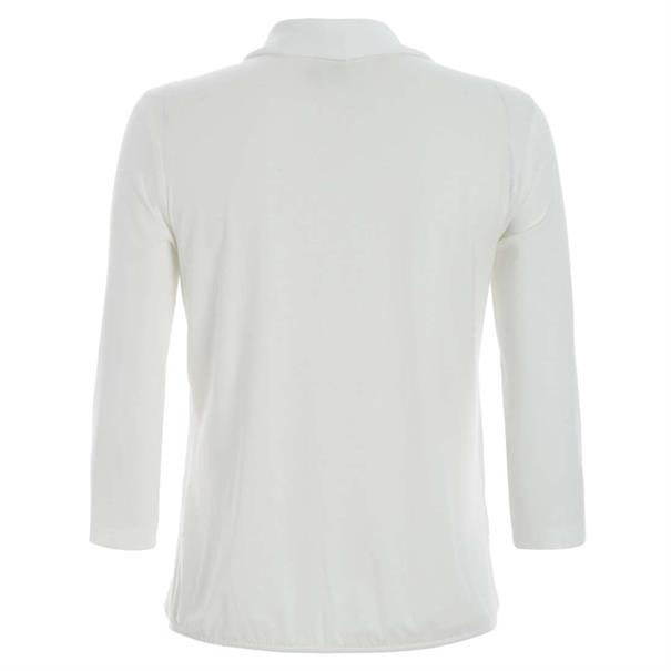 Frank Walder t-shirt 728400 in het Ecru