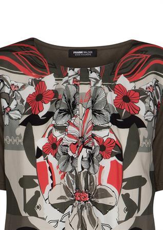 Frank Walder t-shirts 202426 in het Blauw
