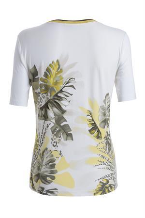 Frank Walder t-shirts 204403 in het Groen