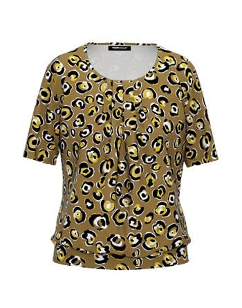 Frank Walder t-shirts 602428 in het Beige