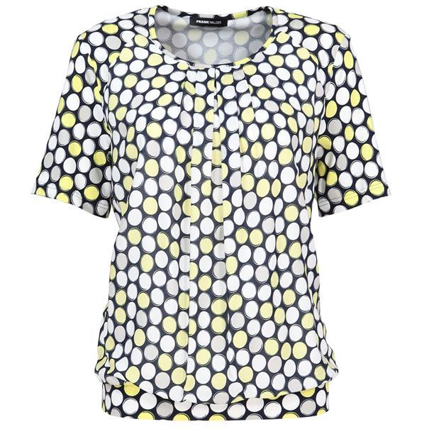 Frank Walder t-shirts 602428 in het Geel