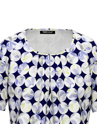 Frank Walder t-shirts 602428 in het Groen