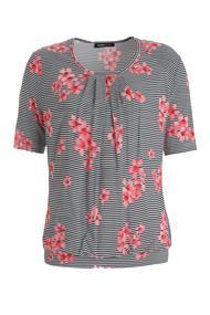 Frank Walder t-shirts 602428 in het Zwart / Wit