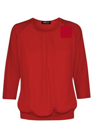 Frank Walder t-shirts 707426 in het Donker Rood