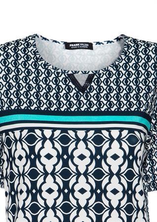 Frank Walder t-shirts 711402 in het Blauw