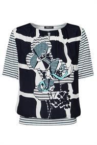 Frank Walder t-shirts 711427 in het Blauw