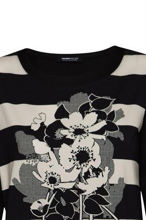 Frank Walder t-shirts 721407 in het Zwart
