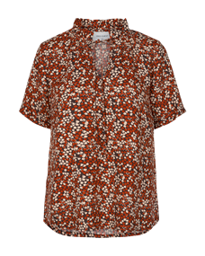 Freequent blouse agnes-bl in het Koraal