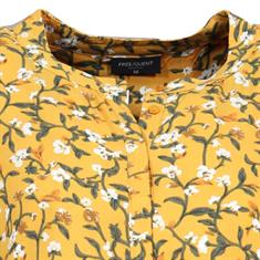 Freequent blouse FQADNEY-LS in het Oker