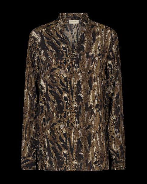 Freequent blouse jamila-bl in het Zwart