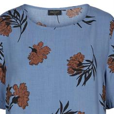 Freequent blouse kiza-ss-bl in het Blauw