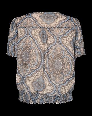 Freequent blouse nady-bl in het Licht Blauw