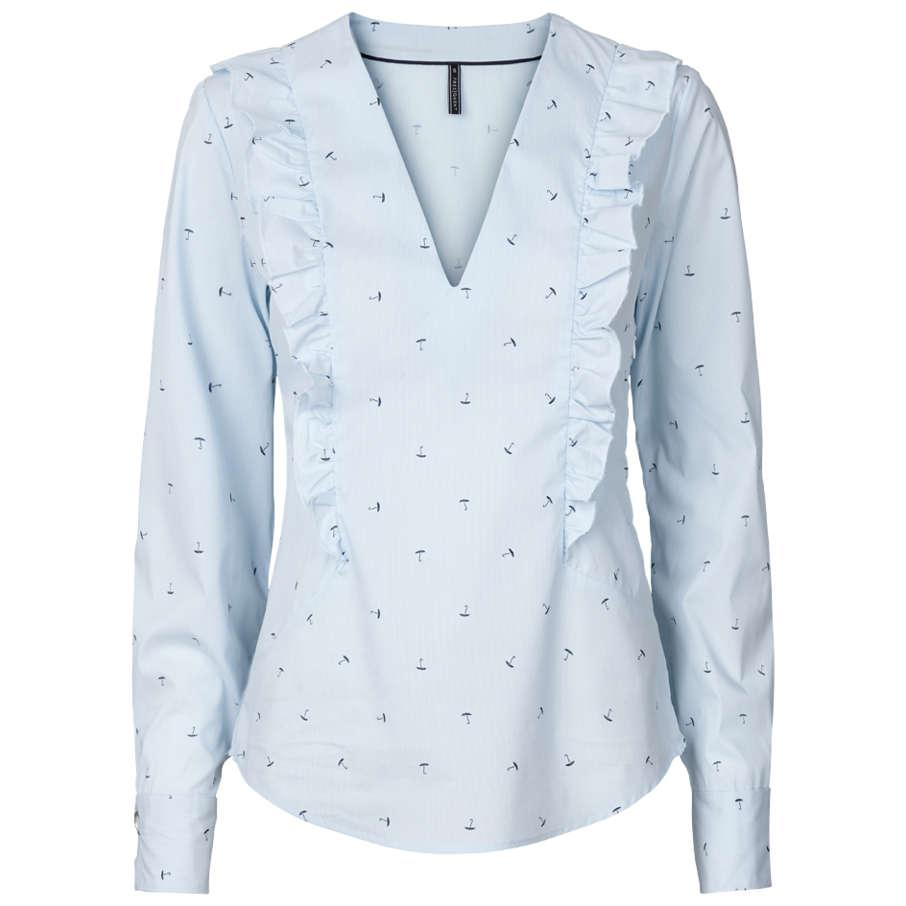 Freequent blouse sinus-bl in het Licht Blauw