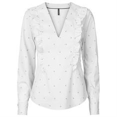 Freequent blouse sinus-bl in het Wit/Blauw