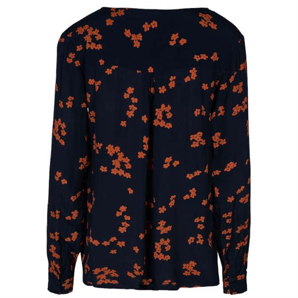 Freequent blouse tadney-bl in het Donker Blauw
