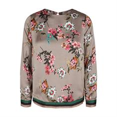 Freequent blouse una-bl in het Grijs