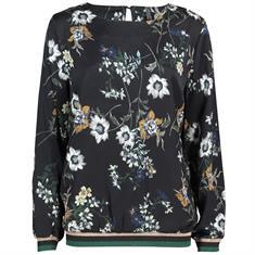 Freequent blouse una-bl in het Zwart