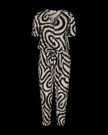Freequent jumpsuits floi-ju in het Zwart / Wit