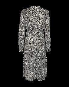 Freequent jurk siga-l-dr-zebri in het Zwart / Wit