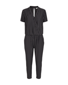 Freequent jurk starki-ju-stripe in het Zwart / Wit