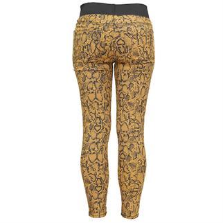 Freequent pantalons shantal-pa-snake in het Camel