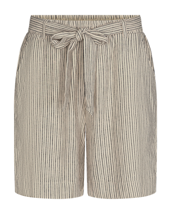 Freequent shorts en bermuda's lavara-sho-stripe in het Zwart / Beige