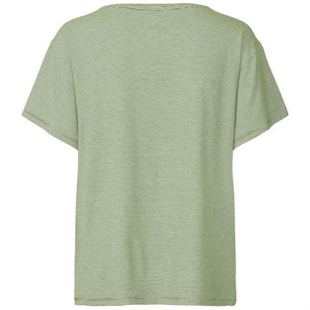 Freequent t-shirt fan-ss in het Groen