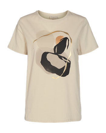 Freequent t-shirts anola-two in het Offwhite