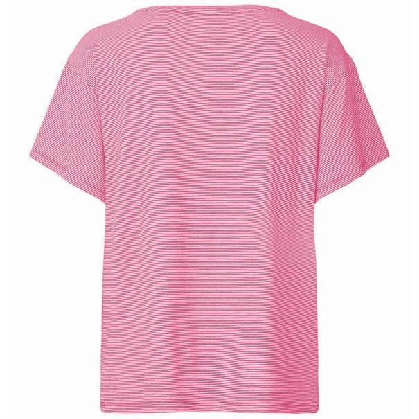 Freequent t-shirts fan-ss in het Fuxia