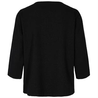 Freequent t-shirts FQLIZY-BL-3/4-L in het Zwart