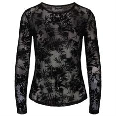 Freequent t-shirts iska-ls-box in het Zwart