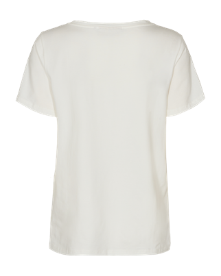 Freequent t-shirts nola-tee-paint in het Offwhite