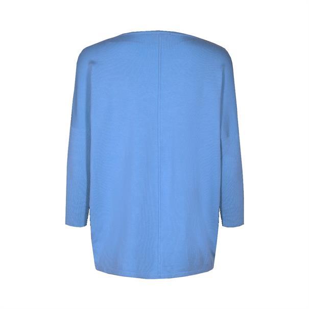 Freequent trui jone-pu in het Licht Blauw